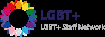 LGBT+ Staff Network logo
