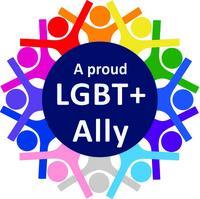 LGBT+ Ally Logo