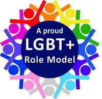 LGBT+ Role Model logo